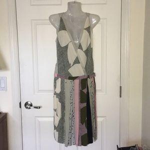 NWT Diane Von Furstenberg 'Jenna' Silk Dress Sz 2